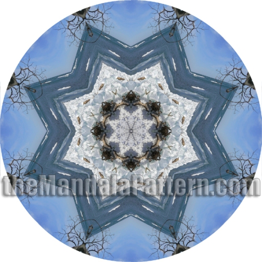 Icing on the Beach Mandala