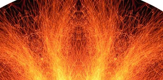 Sparks Mandala -detail