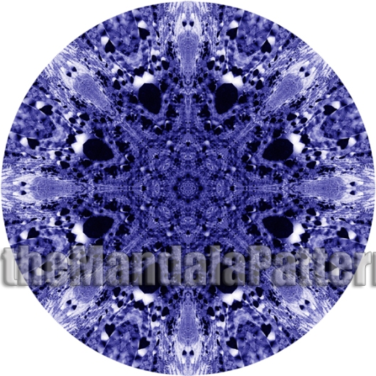 Blue Moon Mandala