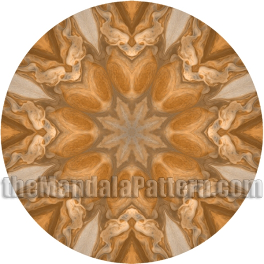 Jupiter Great Red Spot Mandala