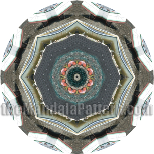 Fishing Boat Mandala