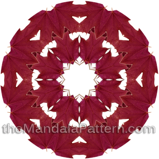 Maple Leaf Mandala